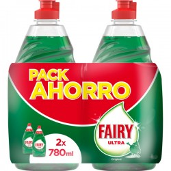 PACK FAIRY ULTRA 2 X 780 ML