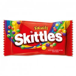 SKITTLES FRUITS 14 UDS X 38 GR