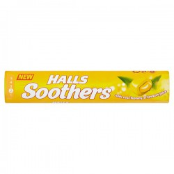 HALLS SOOTHERS MIEL LIMON  20 UD X 45 GR