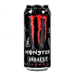 MONSTER ASSAULT ROJO 500 ML