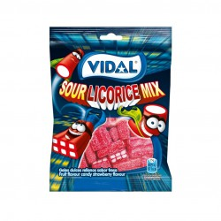 SOUR LICORICE MIX 100 GR