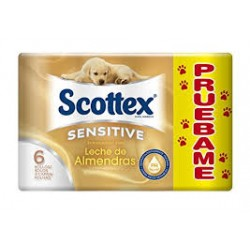 PAPEL HIGIENICO SCOTTEX SENS 3 C 19.47M 6ROLL CS